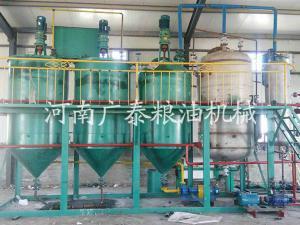 菜籽油脂精煉設備
