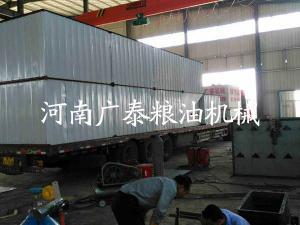 江苏150吨粮食烘干塔发货现场