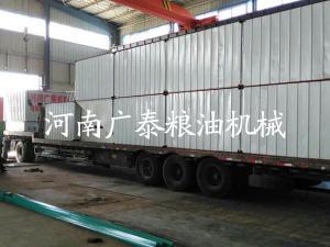 新乡100吨粮食烘干塔发货现场3
