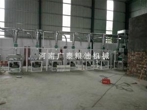 成套石磨面粉机组生产线