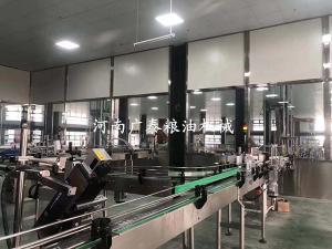 食用油全自动罐装生产线